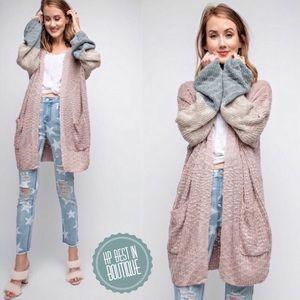 Sweaters - ✨New Item-Lizzie-Oversized Knit Cardigan